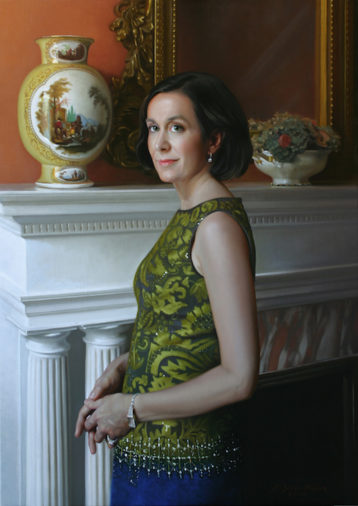 Anna Oil on linen, 42 x 30 inches