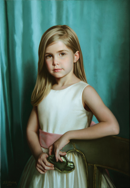Annabelle Oil on linen, 27 x 19 inches