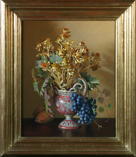Harvest Gold     Oil on linen, 20 x 16 inches     SOLD