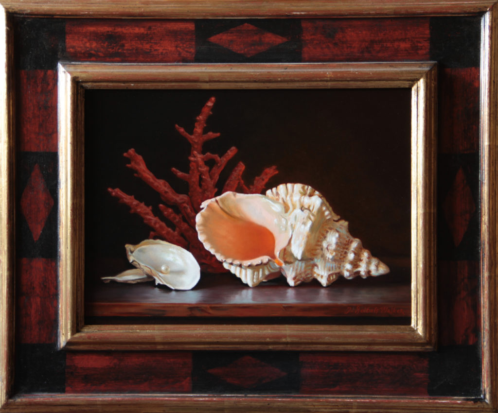 Jewels of the Sea Oil on panel, 12 x 16 inches SOLD