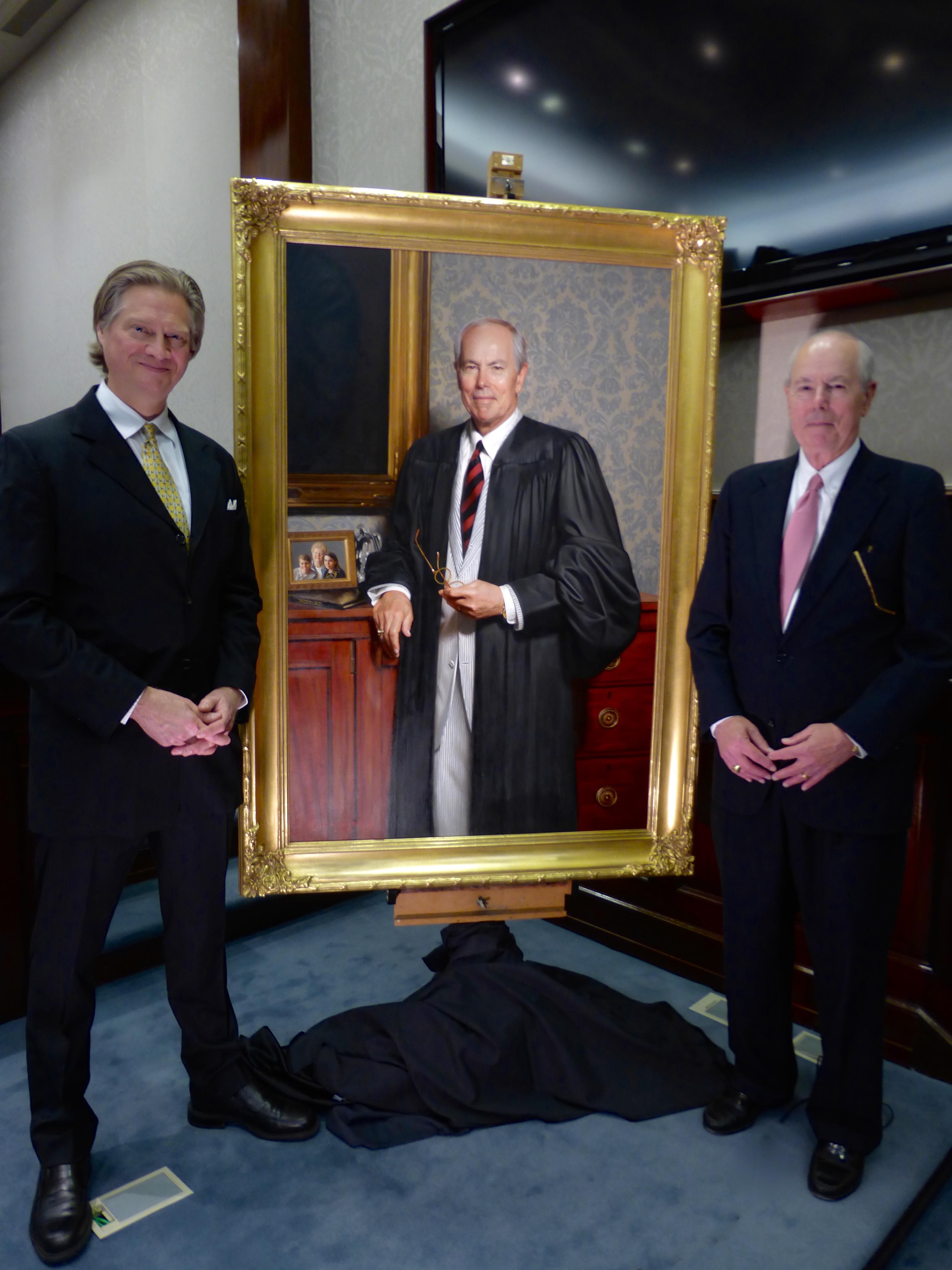 The Hon  Costa Pleicones, Chief Justice of the Supreme Court