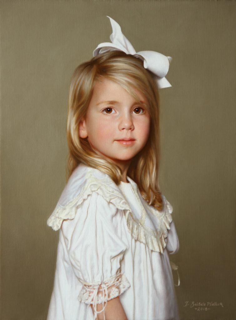 Anna Berkeley Oil on linen, 24 x 18 inches
